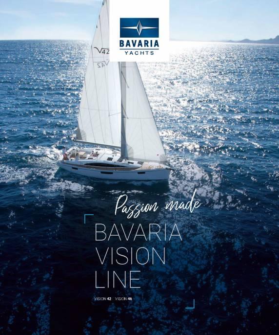 Descargue el folleto de Vision 46 de Clipper Marine