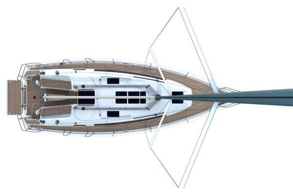 Bavaria Cruiser 37 - Cubierta