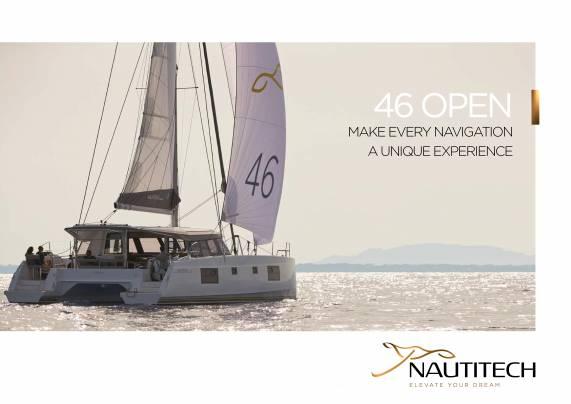 Laden Sie die Nautitech 46 Broschüre öffnen von Clipper Marine