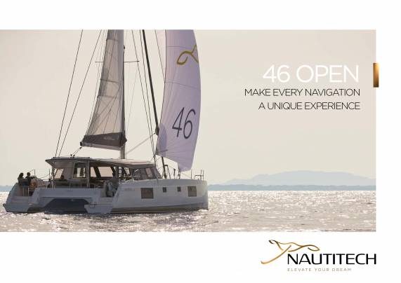 Descarga la Nautitech 46 Folleto abierto de Clipper Marine