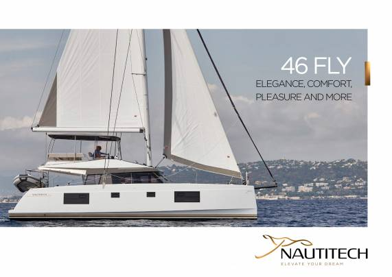 Laden Sie die Nautitech 46 Fly Broschüre von Clipper Marine