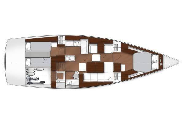 Bavaria Vision 46 - Cabina 2