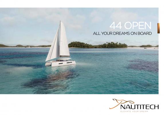 Laden Sie die Nautitech 44 Broschüre öffnen von Clipper Marine