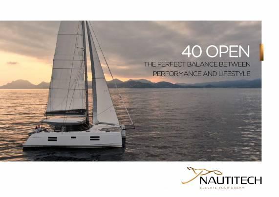 Laden Sie die Nautitech 40 Broschüre öffnen von Clipper Marine