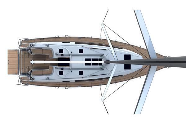 Bavaria Cruiser 46 - Pokład