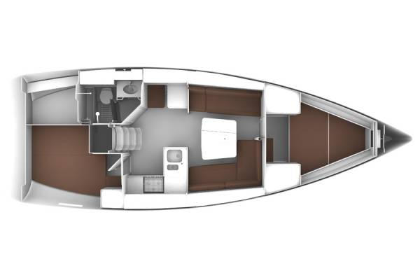 Bavaria Cruiser 37 - Solo en popa