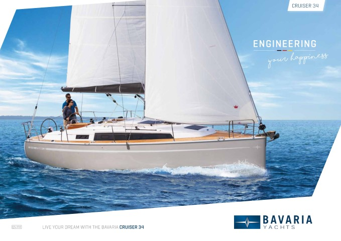 Download the  Cruiser 34 brochure from Clipper Marine