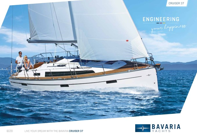 Download the  Cruiser 37 brochure from Clipper Marine