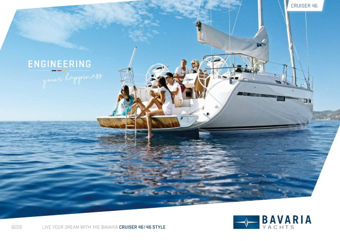 Download the  Cruiser 46 Style brochure from Clipper Marine