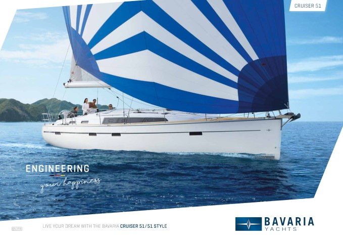Download the  Cruiser 51 Style brochure from Clipper Marine