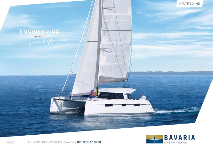 Download the Nautitech 40 Open brochure from Clipper Marine