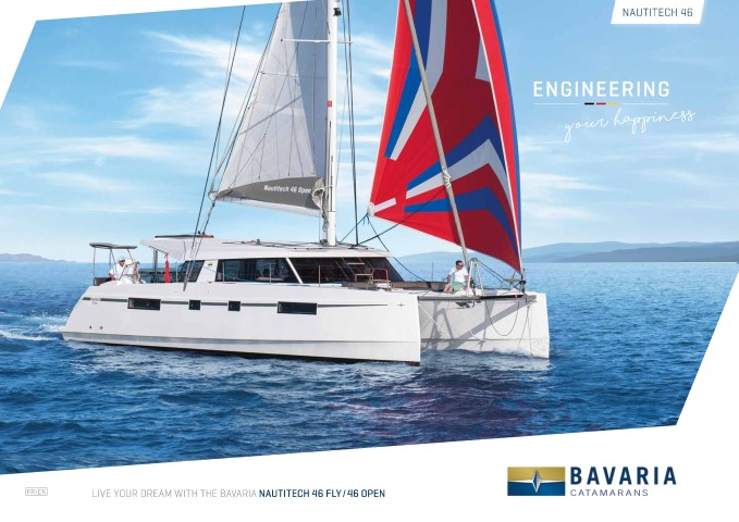 Download the Nautitech 46 Fly brochure from Clipper Marine