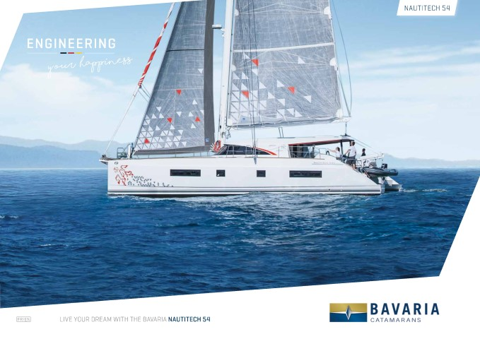 Download the Nautitech 542 brochure from Clipper Marine