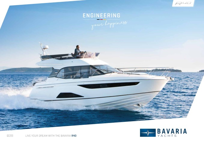 Download the  R40 Coupe brochure from Clipper Marine