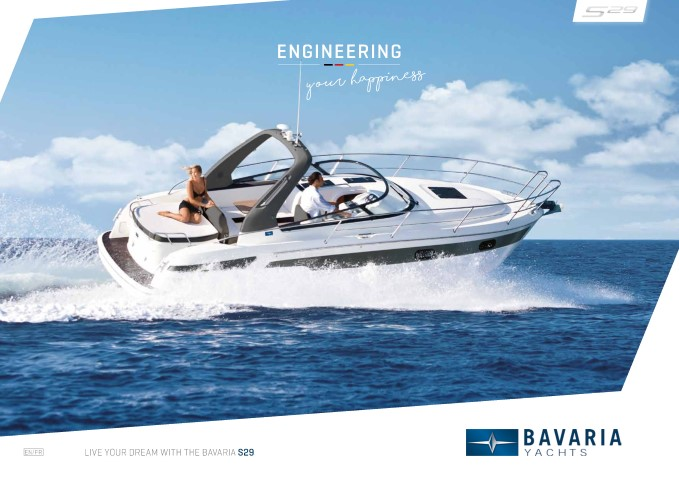 Download the  S29 Open brochure from Clipper Marine