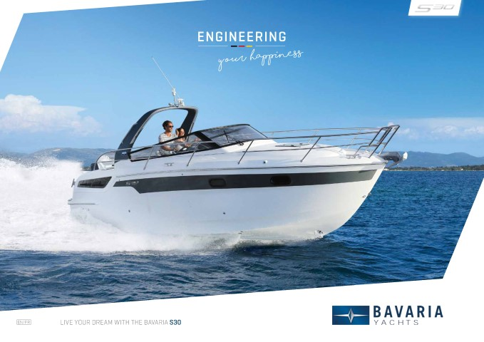 Download the  S30 Open brochure from Clipper Marine