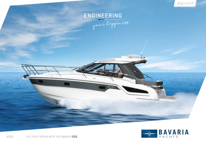 Download the  S33 HT brochure from Clipper Marine
