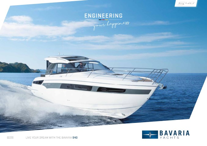 Download the  S40 Coupe brochure from Clipper Marine
