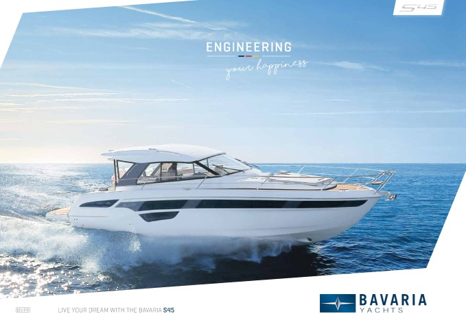 Descargue el folleto S45 Open de Clipper Marine