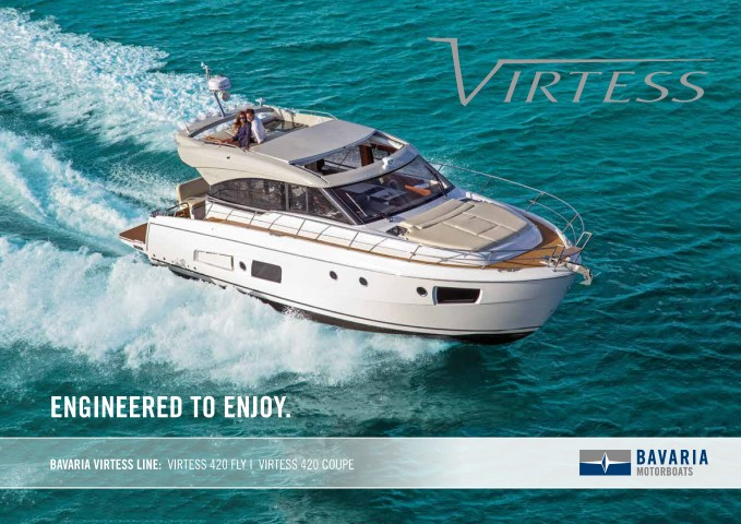 Download the  Virtess 420 Fly brochure from Clipper Marine