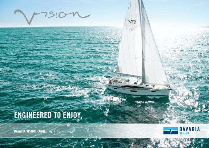 Download the  Vision 46 brochure from Clipper Marine