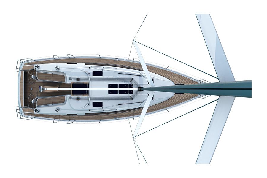 Bavaria Cruiser 41 - Cubierta