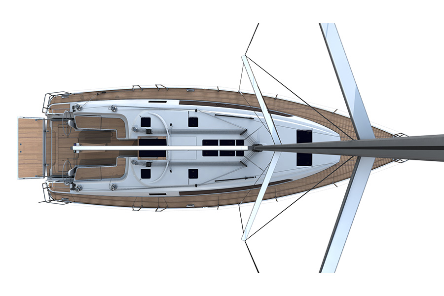 Bavaria Cruiser 46 - Deck