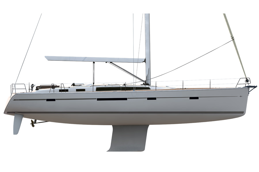 Bavaria Cruiser 56 - Layout 5