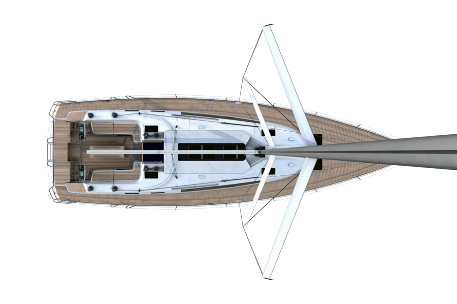 Bavaria Cruiser 56 - Deck