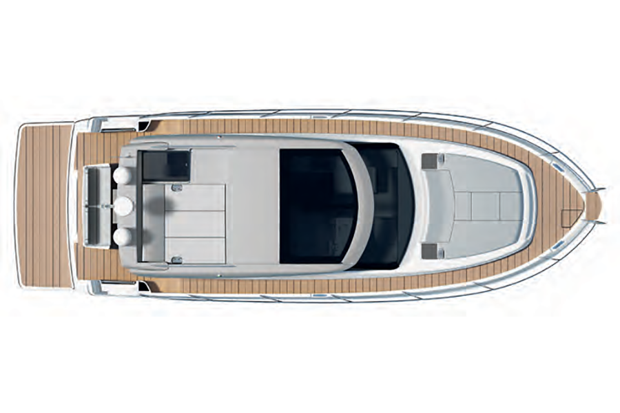 Bavaria Virtess 420 Coupe - Deck