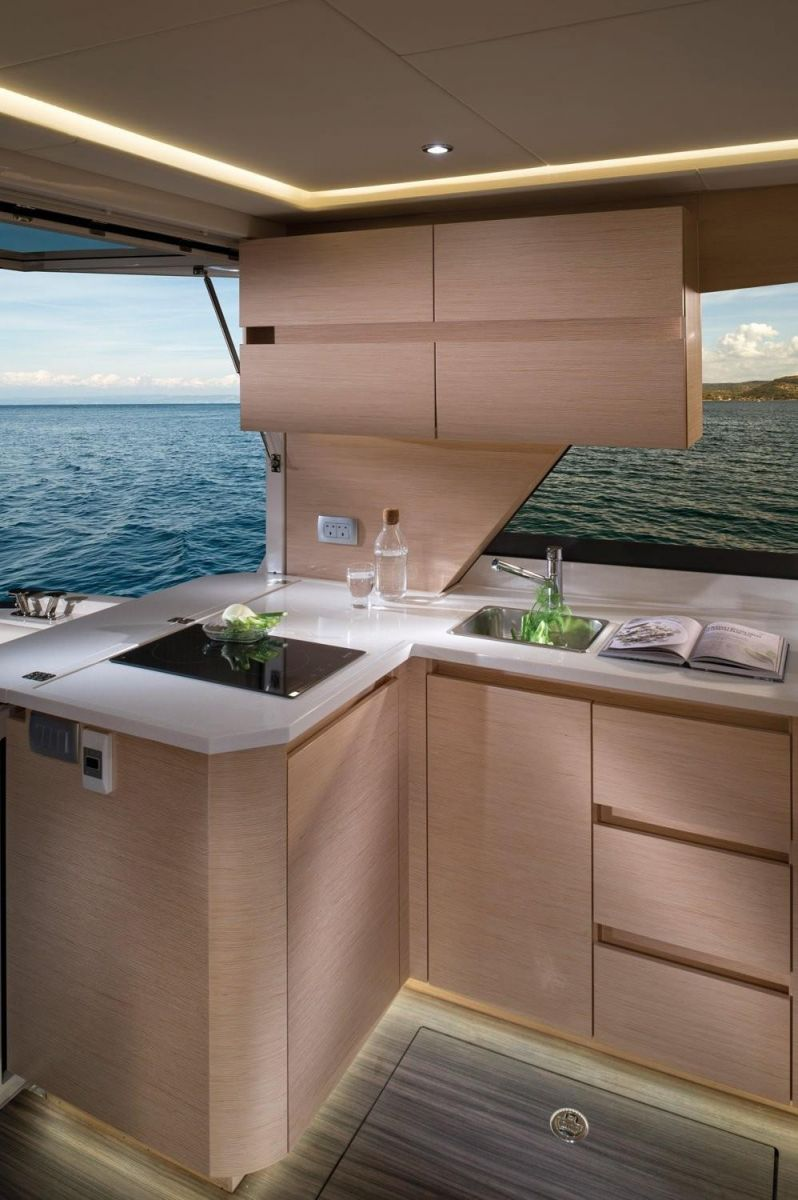 2021 Greenline 39 Manufacturer Provided Image: Greenline 39 Galley
