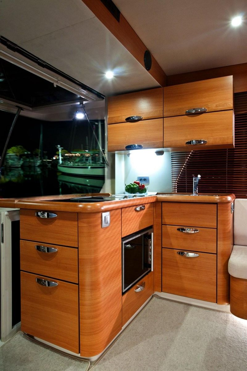 2021 Greenline 40 Manufacturer Provided Image: Greenline 40 Galley