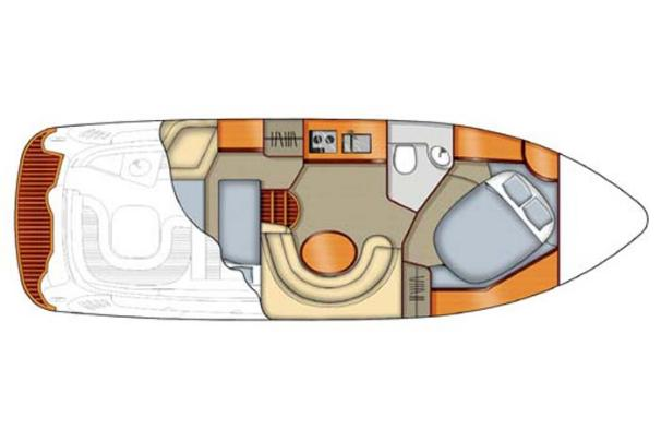 Hersteller zur Verfügung gestellte Bild: Main Deck-Layout