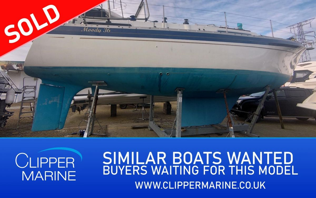 1982 Moody 36CC for sale in Poole by Clipper Marine Spain