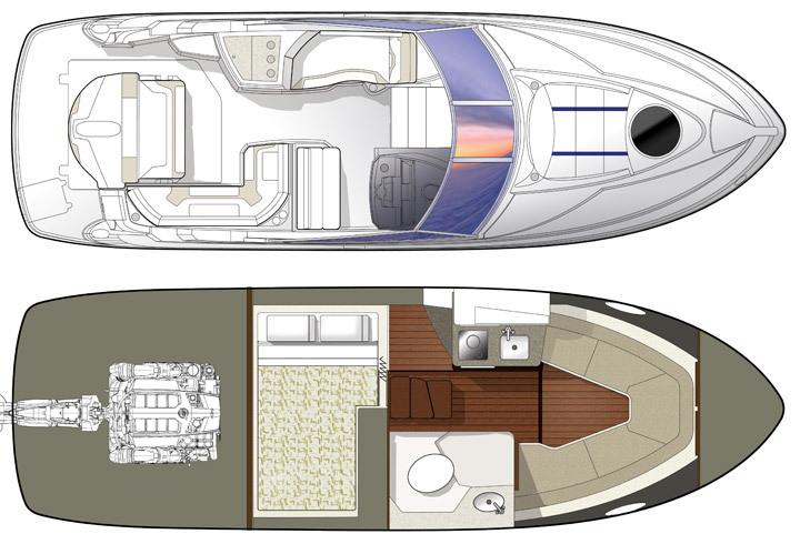 2017 Monterey 275 Sport Yacht Manufacturer Provided Image