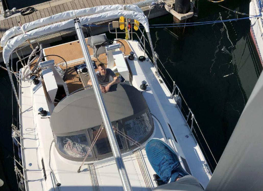 2018 Bavaria Cruiser 46 Style View from mast