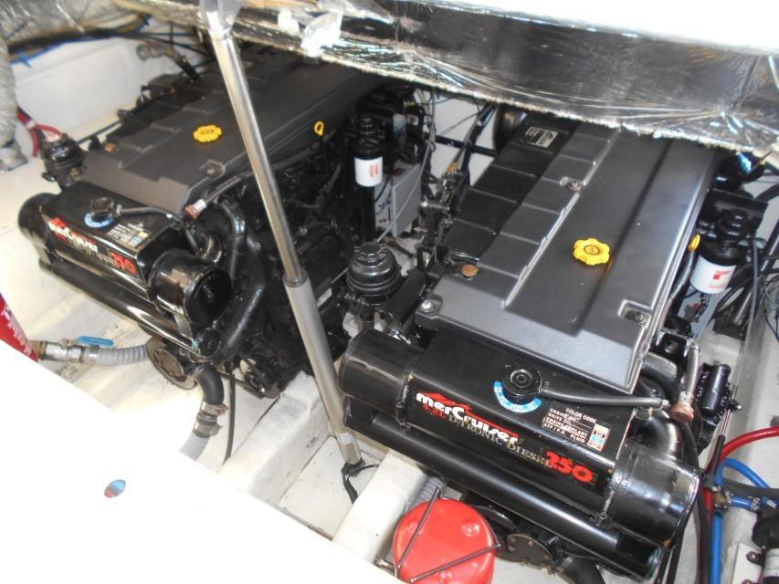 1998 Windy Scirocco 32 Engine Room