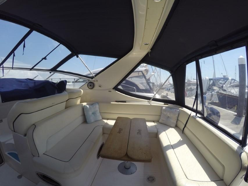 1998 Windy Scirocco 32 Aft Cockpit Seating