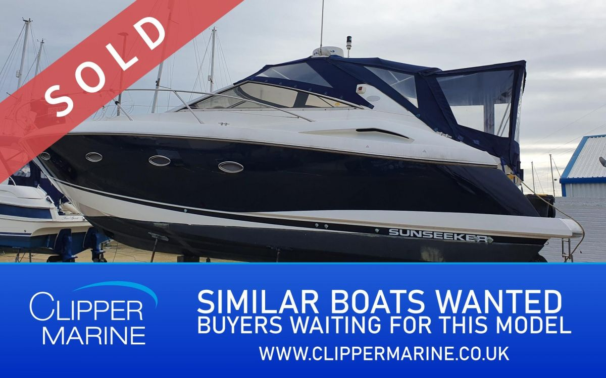 2004 Sunseeker Portofino  35 for sale in Poole by Clipper Marine Spain