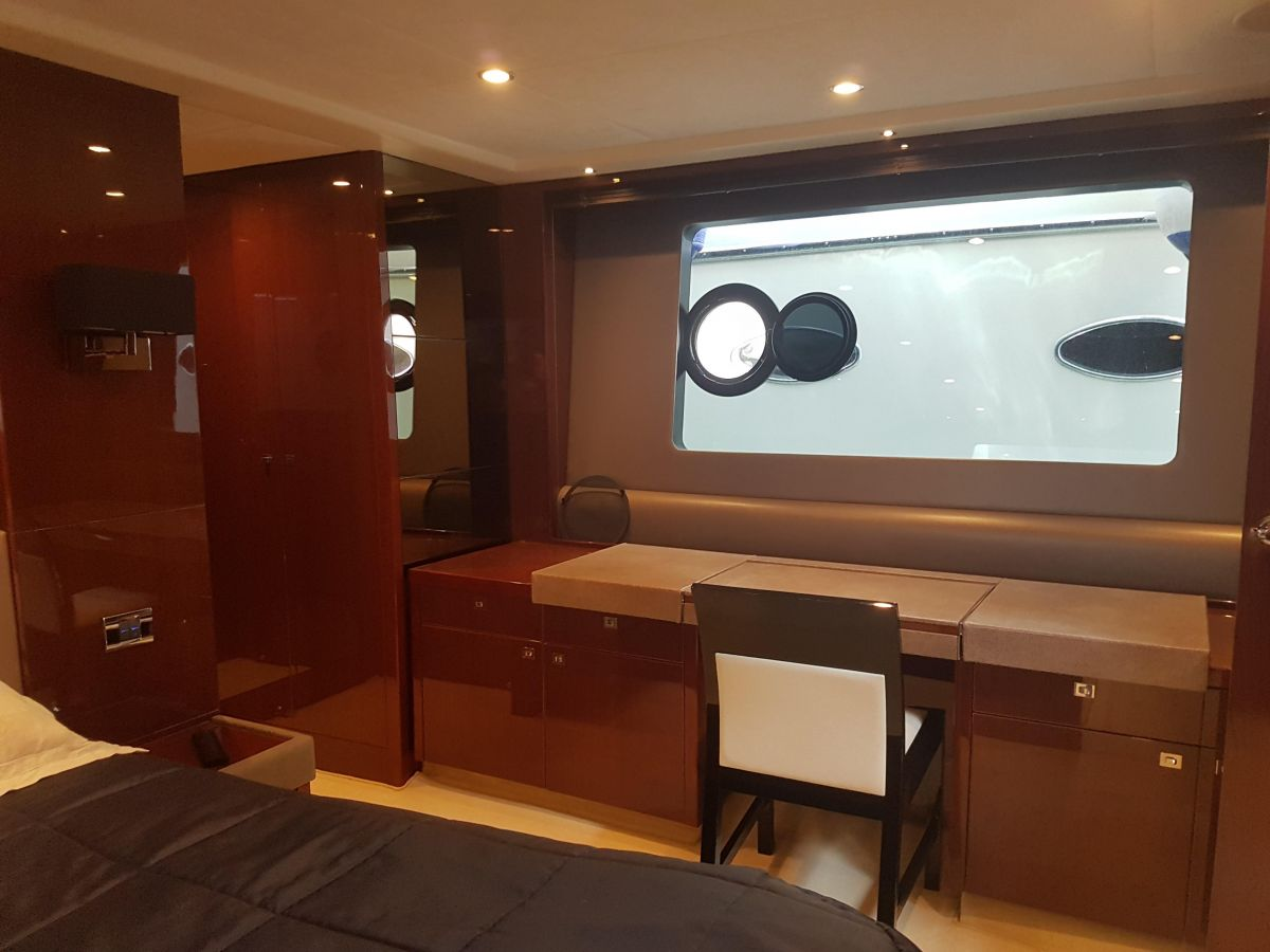 2013 Princess 72 Motor Yacht Luxury cabins