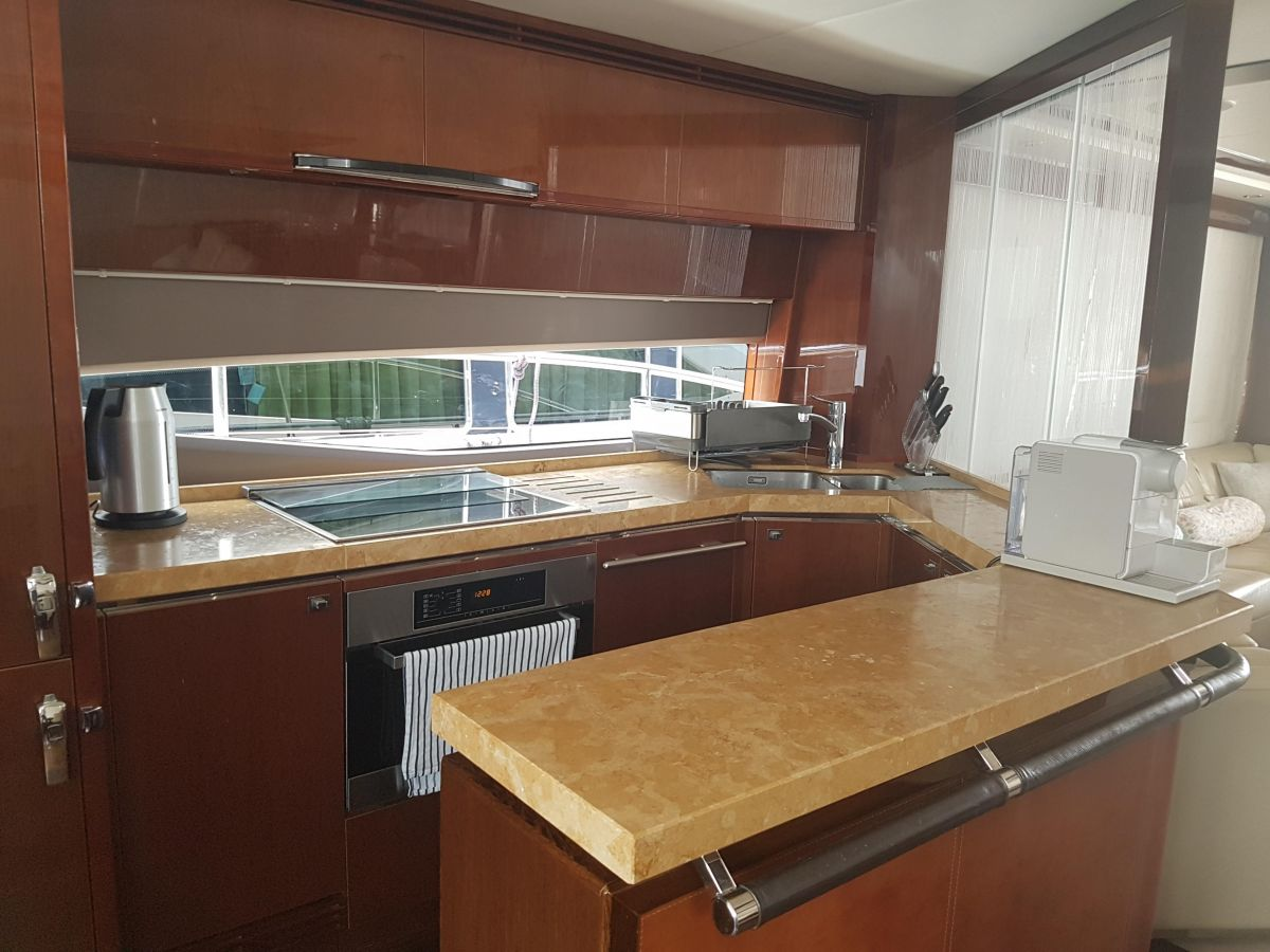 2013 Princess 72 Motor Yacht Galley