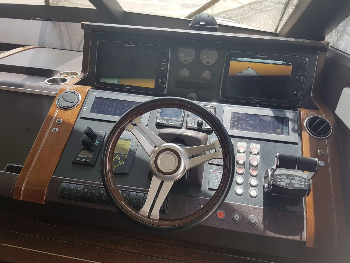 2013 Princess 72 Motor Yacht Everything is in place