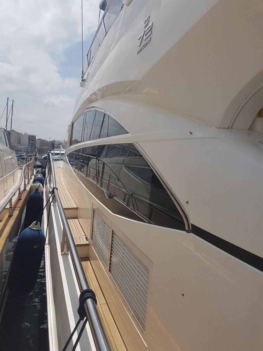 2013 Princess 72 Motor Yacht Side view