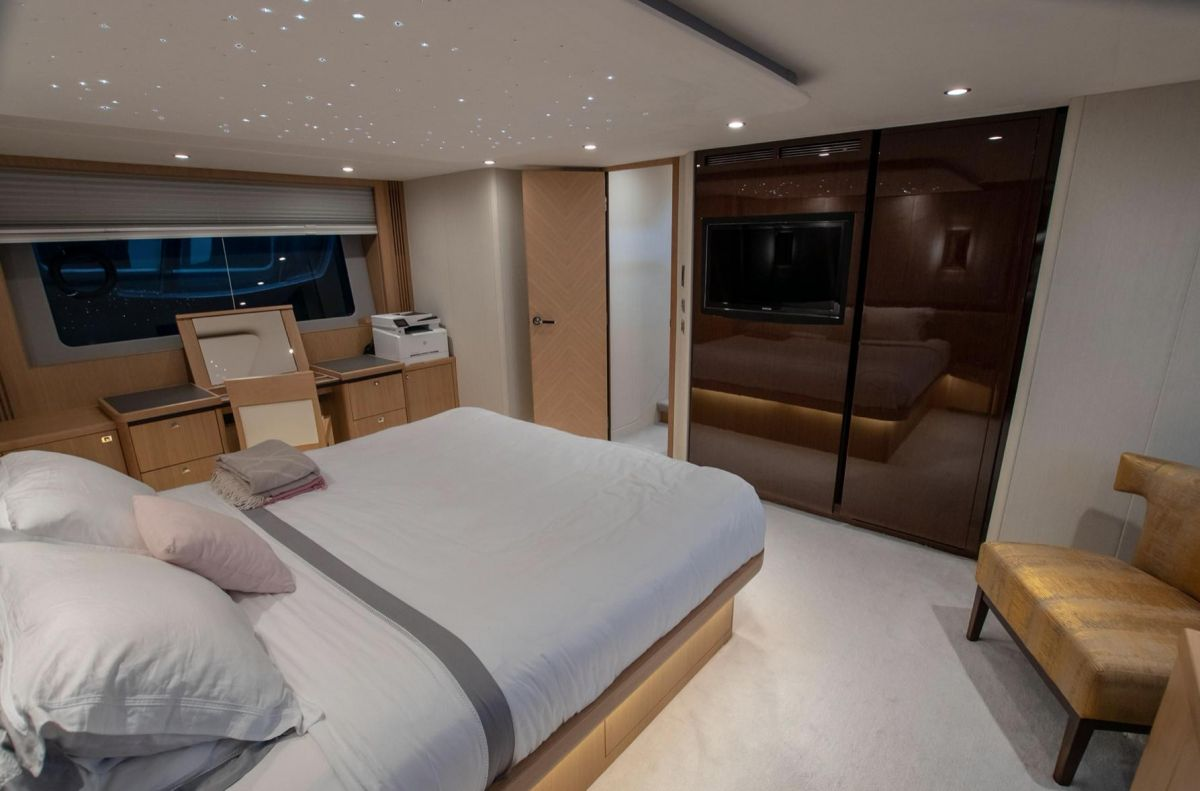 2012 Princess 85 Motor Yacht Owners cabin