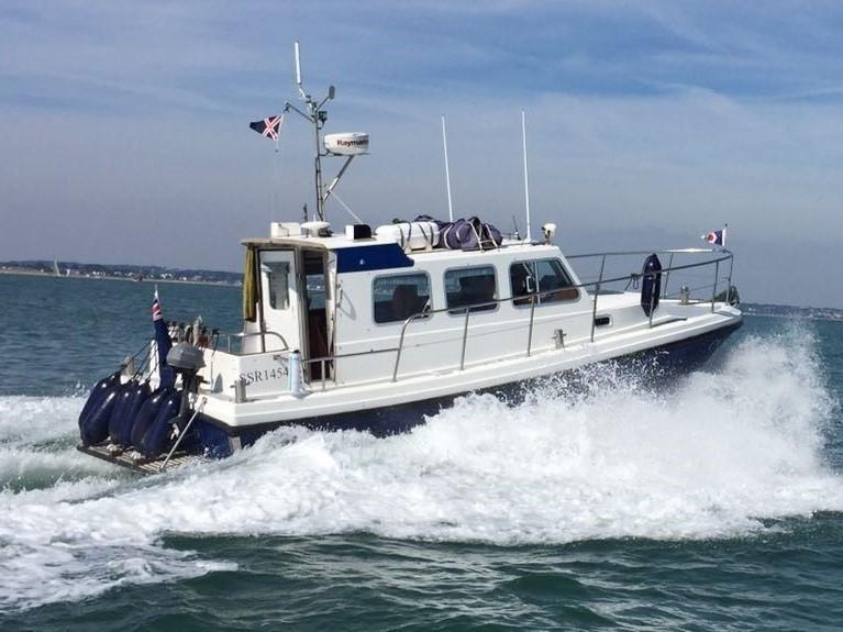 1994 Cygnus Cyclone 26 for sale in Poole by Clipper Marine Spain