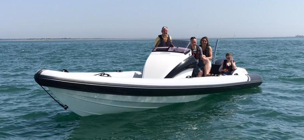 2008 Scorpion 8.5 for sale in Lymington by Clipper Marine Spain