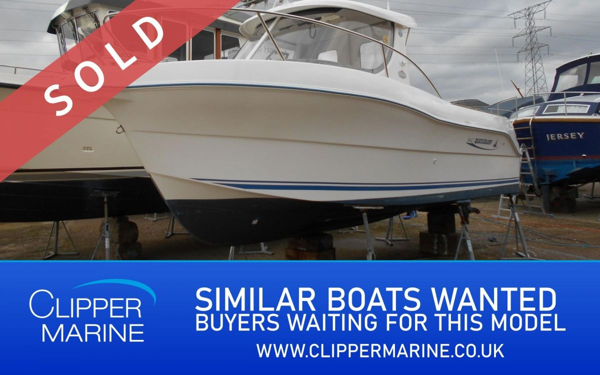 2005 Quicksilver 640 Pilothouse for sale in Poole by Clipper Marine Spain