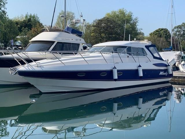 2004 Windy 37 Grand Mistral for sale in Chichester by Clipper Marine Spain