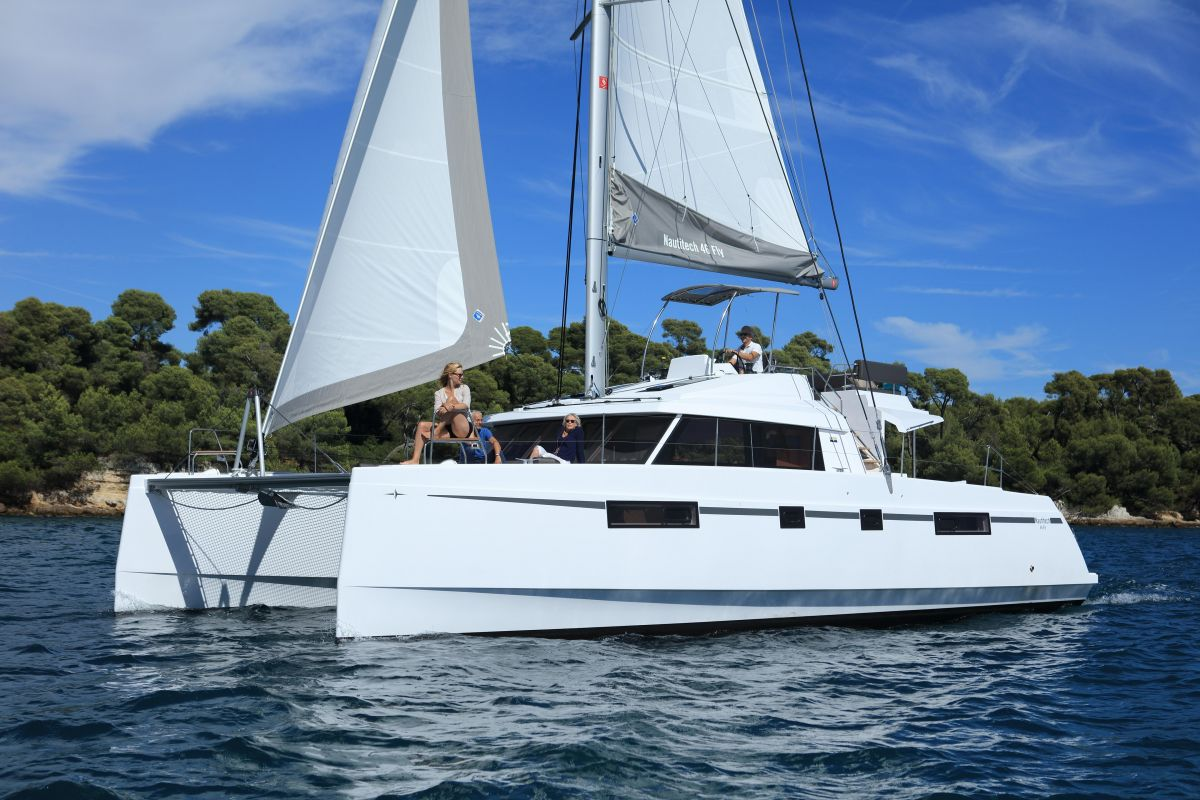 2018 Nautitech 46 Fly for sale in Palma by Clipper Marine Spain