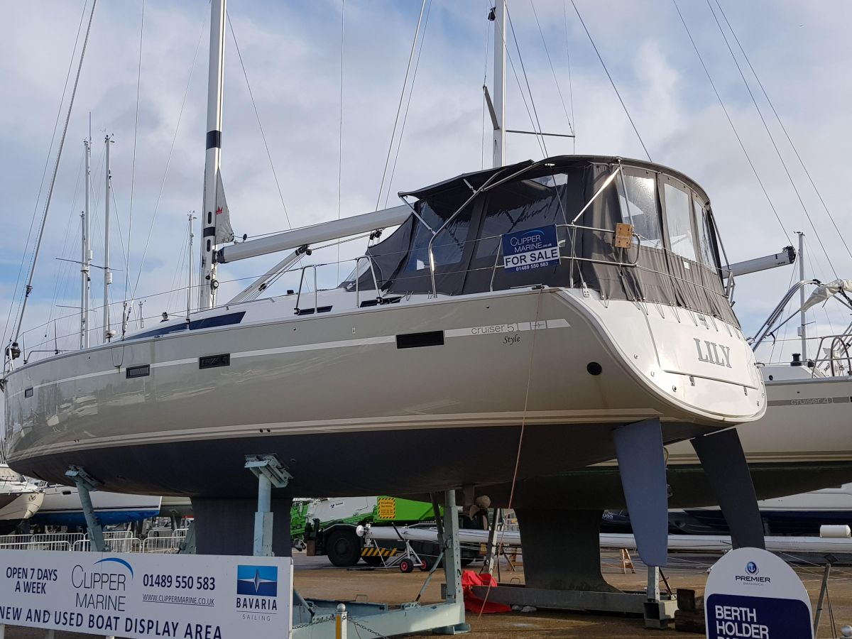 2017 Bavaria Cruiser 51 Style for sale in Swanwick by Clipper Marine Spain